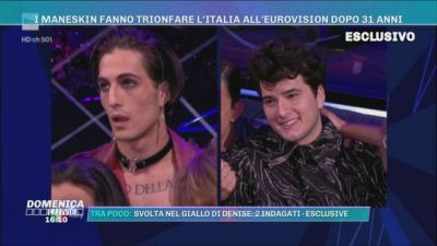 I Maneskin fanno trionfare l'Italia all'Eurovision