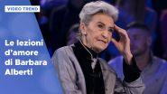 Le lezioni d'amore di Barbara Alberti a Verissimo