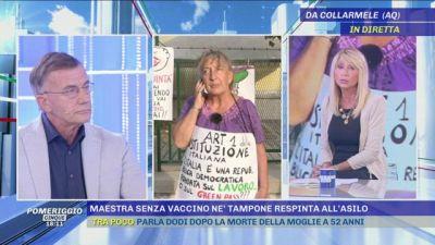 Parla la maestra ''No green pass'' che fa lo sciopero della fame