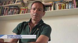 """Cassani: """"Innamorato del ciclismo grazie a Gimondi"""""""