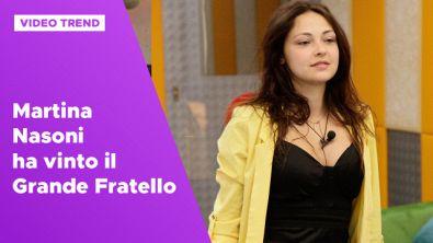 Martina Nasoni ha vinto il Grande Fratello