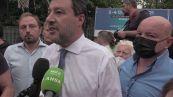 """Roma, Salvini: """"Chiuderemo la campagna elettorale a Tor Bella Monaca, non come la sinistra"""""""