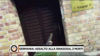 Germania, attacco alla sinagoga di Halle