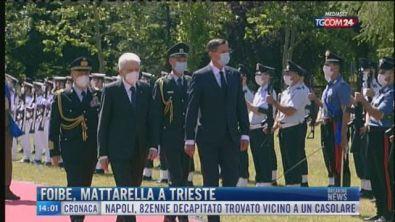 Breaking News delle 14.00 | Foibe, Mattarella a Trieste