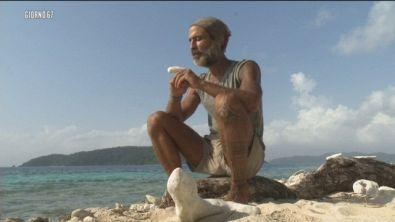 Il saluto di Raz all'Isola