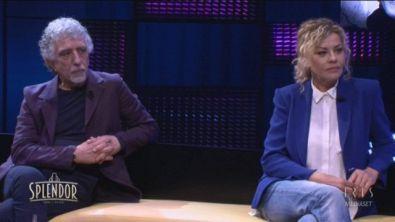 Eva Grimaldi e Pino Calabresi