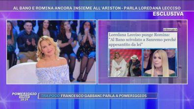 Al Bano, Romina Power e... Loredana Lecciso