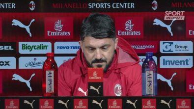 """Gattuso: """"A Bergamo ci vuole l'elmetto"""""""