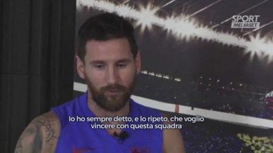 """Messi: """"Resto al Barcellona, ma voglio vincere"""""""