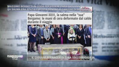 Il Papa Buono soffre il caldo