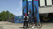 """Inter, i tifosi """"cancellano"""" Lukaku dal murale di San Siro"""
