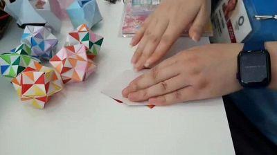 A Tokyo 2020 ci si allena anche nell'arte degli origami