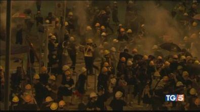 Proteste ad Hong Kong, assalto al parlamento