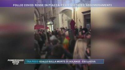 Follie Covid: risse in piazza, feste vietate e assembramenti