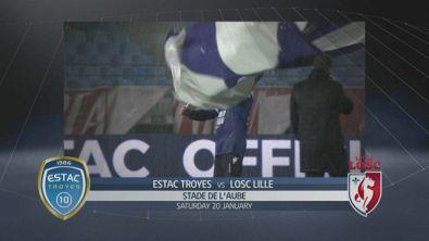 Estac Troyes - Lille 1-0