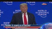 """Trump: """"E' tempo di ottimismo"""""""