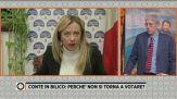 """Giorgia Meloni: """"Escludo ipotesi di far parte di un Governo a larghe intese"""""""
