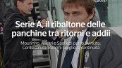 Serie A, il ribaltone delle panchine tra ritorni e addii