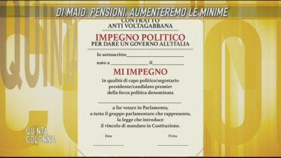 Luigi Di Maio: il nostro contratto antivoltagabbana
