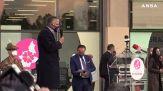 Vaccino, Figliuolo inaugura a Torino il nuovo centro del Lingotto