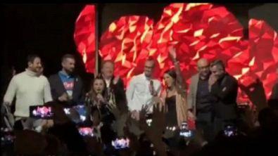 Hamsik saluta il Napoli cantando