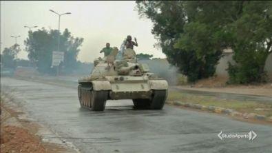 Libia, Haftar va all'attacco