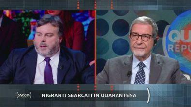 Migranti sbarcati in quarantena