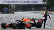 Formula 1, GP Azerbaijan: gara folle, alla fine vince Perez
