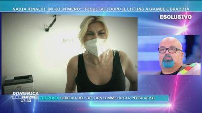 Nadia Rinaldi, 80 kg in meno