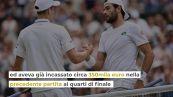 Wimbledon, Berrettini in finale: quanto potrebbe vincere