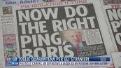Breaking News delle 17.00 | GB toglie quarantena per gli stranieri