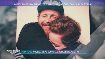 La figlia di Jovanotti, 22 anni: ''Ho sconfitto la malattia''