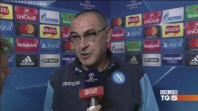 Champions: il Napoli a Manchester