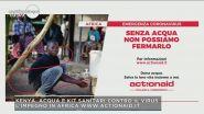 Actionaid e l'emergenza Coronavirus