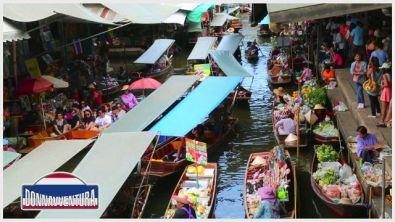 Donnavventura in Thailandia: i mercati galleggianti