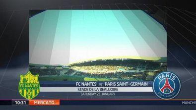 FC Nantes-Paris Saint Germain 0-2
