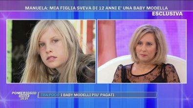 """Manuela Gambarin: """"Mia figlia Sveva è una baby modella"""""""
