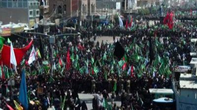 Iraq, la marea umana degli sciiti a Kerbala malgrado il Covid