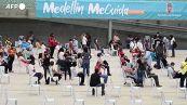 Colombia, a Medellin vaccini agli over 60