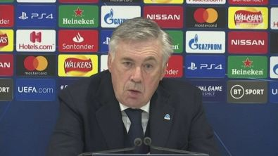 """Ancelotti: """"Il presidente era contento, ha ringraziato tutti"""""""