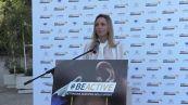 Vezzali apre la settimana europea dello sport al Foro Italico