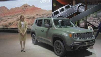 Jeep all'88° Salone di Ginevra