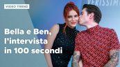 Bella Thorne e Benjamin Mascolo, l'intervista in 100 secondi