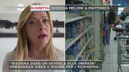 Emergenza Coronavirus, parla Giorgia Meloni