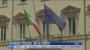 Breaking News delle 09.00 | Guardie civiche, ok di Conte