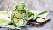Acqua di cetriolo, la bevanda detox dell'estate