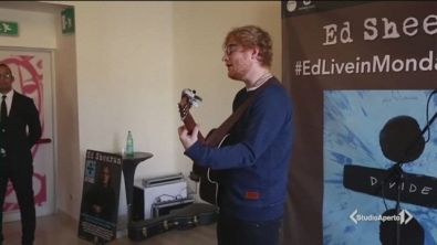 La prima tappa di Ed Sheeran