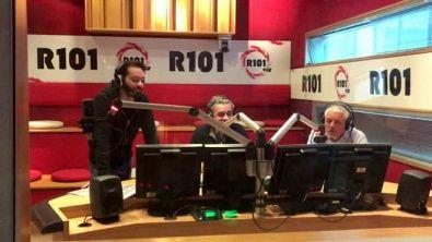 R101 Fuori di Sanremo con la Banda di R101