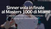 Sinner vola in finale al Masters 1000 di Miami