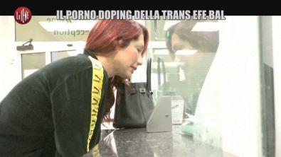 CASTELLANO: Il porno doping della trans Efe Bal